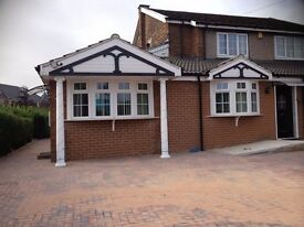 1 bedroom accomodation attached to a detached property