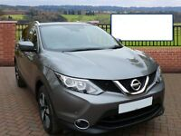 2015 NISSAN QASHQAI N-TEC DIESEL TOUCH NAVIGATION 360 CAMERAS ONLY 8,000 MILES