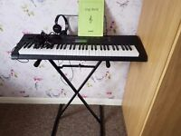 Casio keyboard with extras