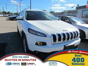 2015 Jeep Cherokee North | 4X4 | ONE OWNER | BLUETOOTH
