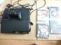 160GB PS3 + Controller + 4 Games