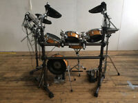 YAMAHA DTXTREME 2S SPECIAL - ELECTRONIC DRUMS. BIRCH SHELLS, MESH HEADS. VERY RARE PROFESSIONAL KIT