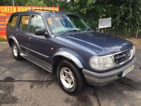 1999 T FORD EXPLORER 4.0 LPG CONVERSION CLEAN AND PRESENTBLE DRIVES WELL ANY TRIAL PX TO CLEAR SWAPS