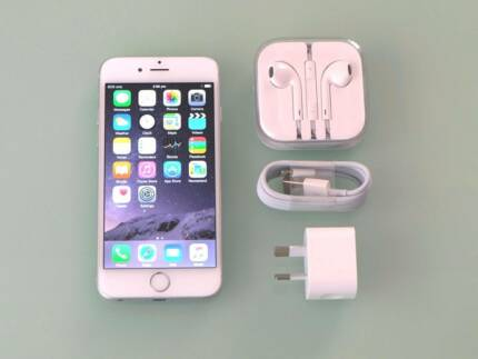 iPhone 6 Silver 128GB Perfect Condition Almost 11 Months Warranty Carindale Brisbane South East Preview