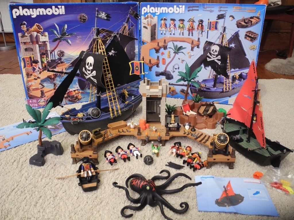 Playmobil 5775 Pirate S Attack Additional Ship In
