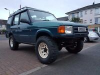 V8 auto discovery 1 needs mot sold with road tyres
