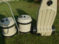 Water Hogs with handle and wastemaster