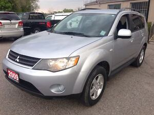 2009 Mitsubishi Outlander ES 4X4 1 OWNER ACCIDENT FREE