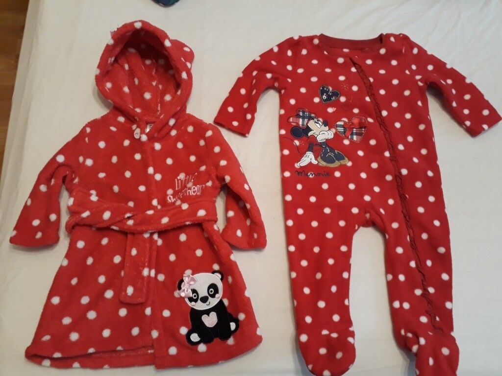 1105c286510f Large bundle of baby girl winter clothes 6-9 months.