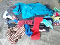Big mixed bag bundle of boys clothes ages 3-4