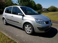 2006 Renault scenic 1.6 16v...auto gearbox...only 77000 miles...12 months mot..