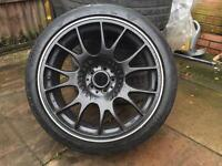 BBS CH 18inc alloys with tyres in good condition