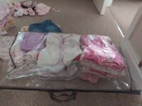 Huge bundle of clothes baby girl size 3-6