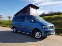 VW Transporter HighLine T6 Camper 2016 (66)reg 4 Berth Campervan