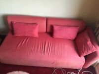Free corner sofa (can also be converted to bed