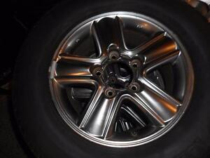4-LEXUS ALLOY RIMS AND TIRES FOR SALE LIKE NEW
