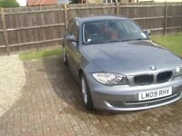 BMW 118D SE £30 car tax, leather interior, f+r parking, auto lights/wipers. new clutch/flywheel.