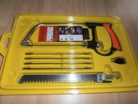 DIY ( 7 piece ) NEW Hack-Saw set.. Handy and lightweight
