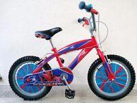 "(2569) 16"" 10"" THE AMAZING SPIDER-MAN BOYS GIRLS KIDS CHILD BIKE BICYCLE Age: 5-7 Height: 105-120 cm"