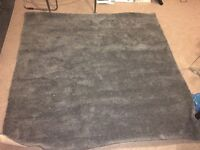 Deep pile Carpet - Charcoal Grey 200cm x 205cm