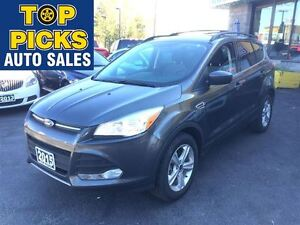 2015 Ford Escape SE, AWD, NAVIGATION, ALLOYS AND MORE!