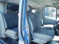 Finance Me! Vauxhall Vivaro 2.0CDTI Sportive LWB 6 seat factory fitted crew van