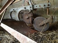 2 furrow ferguson plough. Working order used this spring.