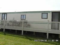 8 BERTH CARAVAN TO RENT CHAPLE ST LEONARDS GOLDEN ANCOR SITE FROM £150 A WEEK