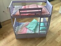 Our generation dolls bunk beds