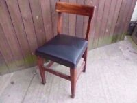 Chair Leather Based Dining Delivery Available