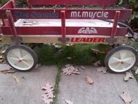 Leader Wooden Wagon