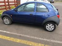 2007 FORD KA 1 YEAR MOT ONLY 45000 MILES FSH DRIVES MINT MAY SWAP not fiesta corsa Clio 206