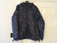 Ladies Superdry Windcagoule rain coat jacket with hood size XL Brand New