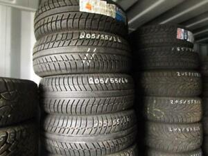205/55R16 MICHELIN SNOW TIRES