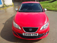 SEAT IBIZA 1.4 FR TSI DSG 3d AUTO 150 BHP 1 OWNER FROM NEW + VERY LOW MILEAGE AUTOMATIC +