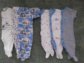 Tiny Baby Boys grows ALL NEXT + MOTHERCARE