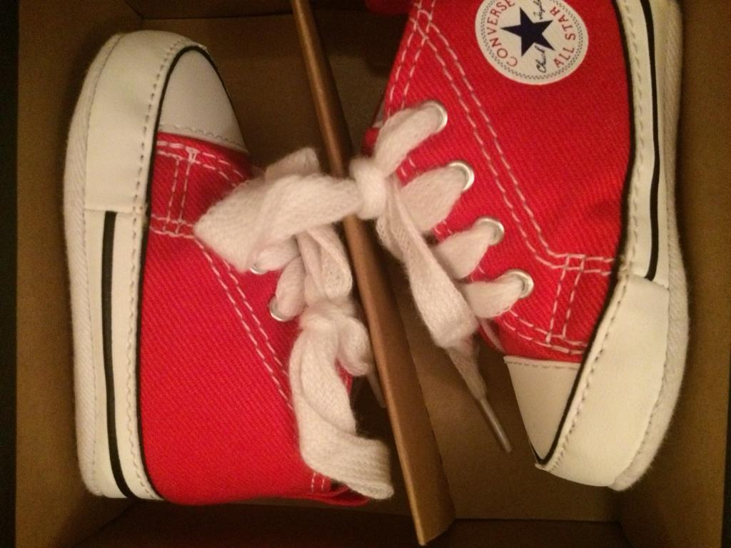 Converse baby shoes unused