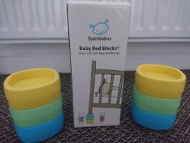 Spacebabies bed blocks – Cot risers – help with colic / reflux / stuffy nose