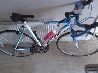 "FORME RAPIDE road bike 21"" L/W Alloy frame mint condition"