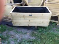 Heavy Duty Marberry Planters. Unused. PICK UP TODAY