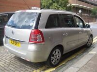VAUXHALL ZAFIRA 1.6 @@@ 2010 PCO UBER ACCEPTED @@@ 7 SEATER MPV 5 DOOR HATCHBACK