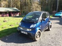 Smart For Two CDI Diesel 2002, Free Road Tax, 80 +mpg, Panoramic Roof,