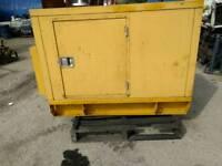 Finning Caterpillar Diesel Generator 10 KVA 240 Volts Perkins Engine