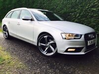 Mint 2014 Audi A4 2.0 Tdi 140bhp SE Technik Avant manual trade in considered, credit cards accepted
