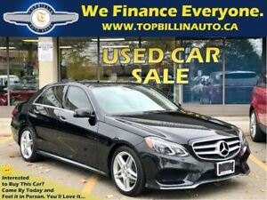 2014 Mercedes-Benz E-Class E350 4MATIC, Navi, Pano Roof, Massagi