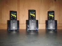 Panasonic KX-PRS120E DECT cordless telephone