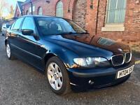 2004 BMW 316 SE 3 Series. Full Mot Low Miles. Excellent condition.