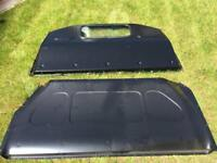 Bulkhead with window from Vw t5