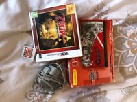 *LIMITED EDITION* Super Smash Bros 3DS XL with 3 games and charger