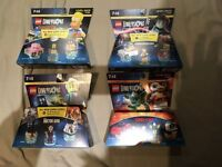 Lego Dimensions Team/Level Packs (4 Brand New Un-Opened).